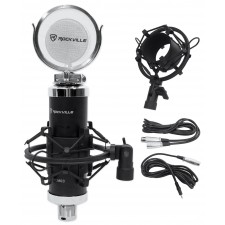 Rockville RCM03 Pro Recording Condenser Podcasting Podcast Microphone Mic