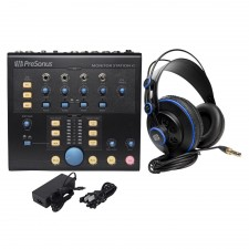 Presonus Monitor Station V2 Studio Monitor Control Center+Monitoring Headphones
