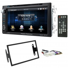 "In-Dash 6.5"" DVD/CD Player Receiver Monitor w/ Bluetooth For 97-00 INFINITI QX4"