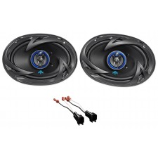 1998-2011 Ford Crown Victoria Autotek Rear Factory Speaker Replacement Kit