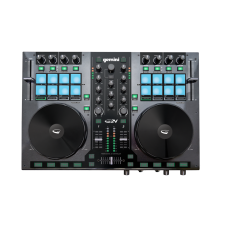 Gemini G2V 2-Channel USB/MIDI Virtual DJ Controller w/ Mixer+24-bit Interface