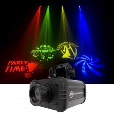 American DJ ADJ GOBO PROJECTOR IR LED Light W/IR Remote+4 Colors+4 Patterns
