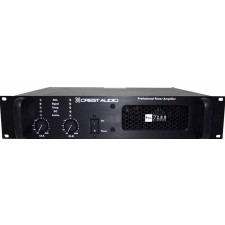 Crest Audio 200 Series Pro7200 3400 Watt Professional Power Amplifier PRO 7200