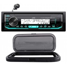 JVC Digital Media Bluetooth Hot Tub Stereo Receiver, iPhone/Sirius+Splash Guard