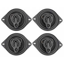 "(4) Rockville RV35.3A 3.5"" 3-Way Car Speakers 400 Watts/120 Watts RMS CEA Rated"
