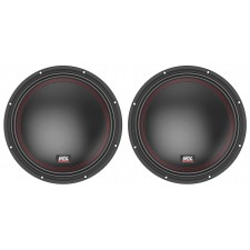 "(2) MTX 5510-44 10"" 1600 Watt Peak DVC 4-ohm Car Audio Subwoofers Subs"