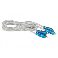 Rockville MRCA6 6 Foot Twisted Pair Marine/Boat RCA Cable 100% Copper, Split Pin