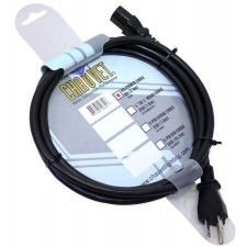 Chauvet DJ 8 Foot IEC Professional Power Cable 3 Pin Linking Light Effects Cable