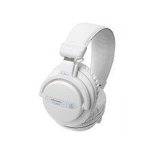 Audio Technica ATH-PRO5XWH Closed-Back, Over-Ear DJ Headphones w/ 40mm Drivers