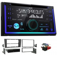 2000-2001 Audi A4/S4 JVC Stereo CD Receiver w/Bluetooth/USB/iPhone/Sirius