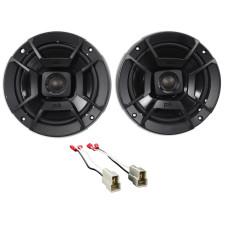 "2002-2005 Subaru WRX Polk Audio Rear Door 6.5"" Speaker Replacement Kit"
