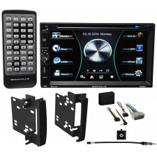 2012 Ram 1500/2500/3500 Car DVD/iPhone/Bluetooth/Pandora/USB Receiver Stereo