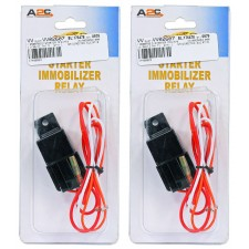 (2) Bulldog Security 773 Car Ignition/Starter Immobilizer Relay Harness