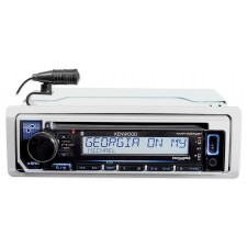 Kenwood KMR-D372BT Marine Bluetooth CD Player Receiver w/USB/Android/iPhone