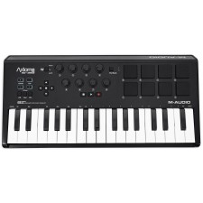 M-Audio Axiom AIR Mini 32 USB MIDI 32-Key Keyboard Controller w/ Pads
