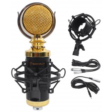 Rockville RCM02 Gaming Twitch Microphone Streaming Youtube Recording PC Game Mic