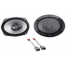 """Kenwood CSC 900W 6x9"""" Rear Deck Speaker Replacement Kit For 2009-2014 Acura TL"""