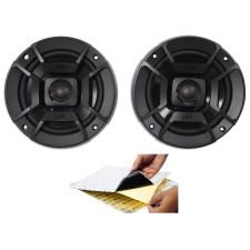 """(2) Polk Audio DB522 5.25"""" 600w Car Audio ATV/Motorcycle/Boat Speakers + Rockmat"""
