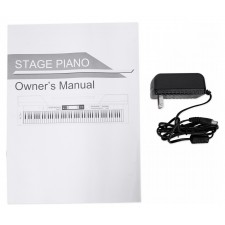 MEDELI SP4200 88-Key Hammer Action Digital MIDI Stage Piano+Stand+Sustain Pedals