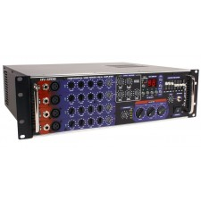 Vocopro HV-1200RV Professional Rack Mountable 1,200 Watt Vocal Mixing Amplifier