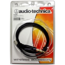 "Audio Technica AT-GCW Cable Guitar 1/4"" To Locking 4-Pin Connector for Wireless"