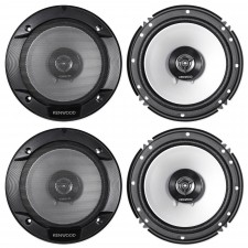 """Kenwood 6.5"""" Front+Rear Speaker Replacement For 1996-2001 INFINITI I30"""