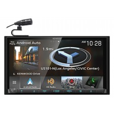"Kenwood DNX875S 6.95"" Navigation DVD Bluetooth Receiver iphone/Android Weblink"