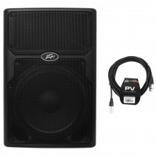 "Peavey PVXP15DSP 15"" Powered Active DJ/PA Speaker w DSP and 128dB SPL!+XLR Cable"