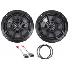"2003-2007 Honda Accord Front 6.5"" Kicker Factory Speaker Replacement Kit"