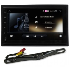 """Rockville AN7 2 Din 7"""" Android Car Receiver MirrorLink/GPS/Bluetooth/Wifi+Camera"""