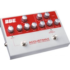 BBE ACOUSTIMAX Acoustic Guitar Pre-Amp DI Direct Box Processor Pedal Stomp-Box