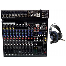 Peavey PV 14AT PV14AT Mixer,8 mic in,USB//Effects+Bluetooth+AutoTune+Headphones
