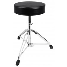 Rockville RDS30 Deluxe Thick Padded Foldable Drum Throne Stool Adjustable Height
