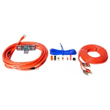 Metra V6-RAK8 8 Gauge Car/Marine Amplifier Wiring Installation Wire Kit w/ RCA's