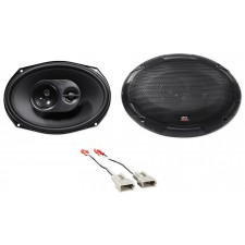 MTX Rear Factory Speaker Replacement Kit For 1992-1997 Mercury Grand Marquis