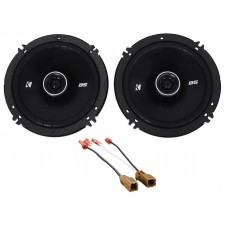 "Kicker Front Door 6.5"" Speaker Replacement Kit For 2000-2004 Nissan Xterra"