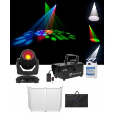 Chauvet DJ Intimidator Beam 355 IRC Moving Head Light w/Gobo+Facade+Fogger+Fluid