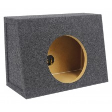 "Rockville Shallow Sub Box Enclosure For Rockford Fosgate P3SD4-8 8"" Subwoofer"