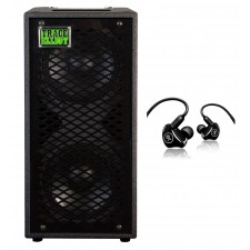 "Trace Elliot ELF 2x8 400w Dual 8"" Bass Guitar Speaker Cabinet+Mackie Monitors"