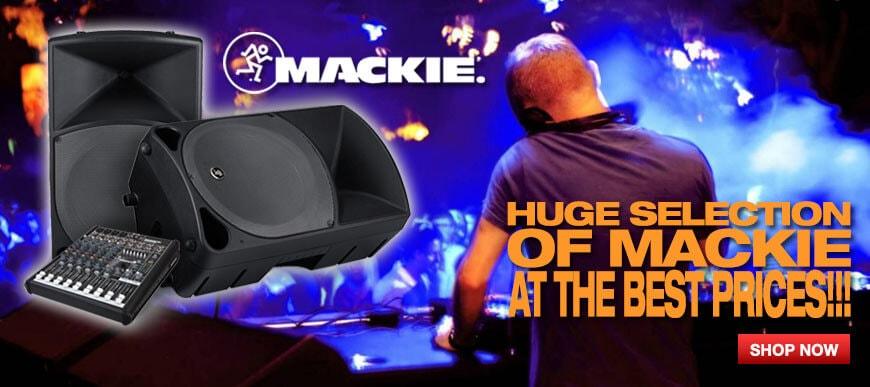 Mackie Banner
